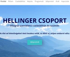 athalie consulting weboldal készítés hellingercsoport.hu