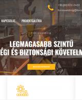 athalie consulting weboldal készítés fonixwelding.hu