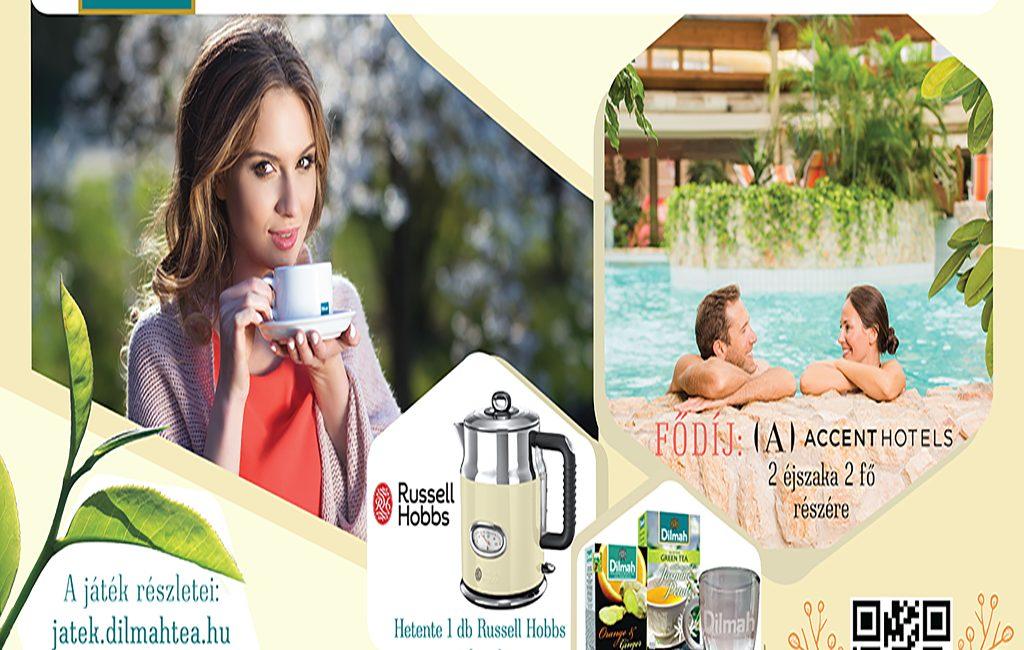 Weboldal készítés - Athalie Consulting, Dilmah tea nyereményjáték 2020. őszi időszak